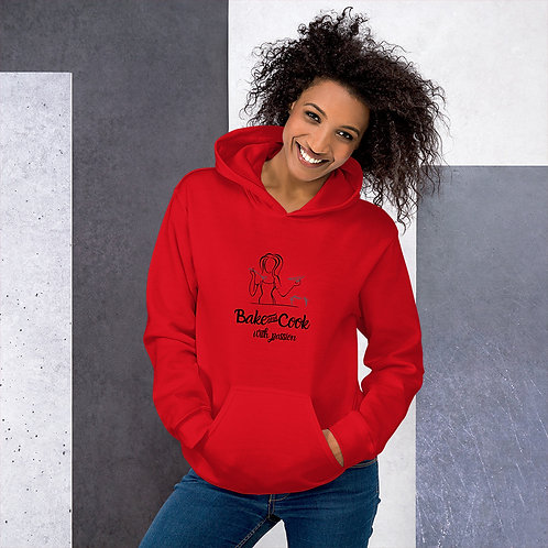 Bake & Cook with passion Unisex Hoodie