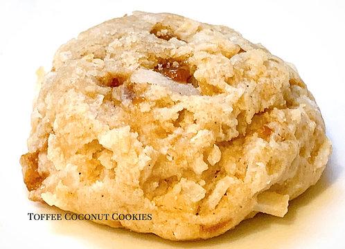 Toffee Coconut Cookies(no nuts)