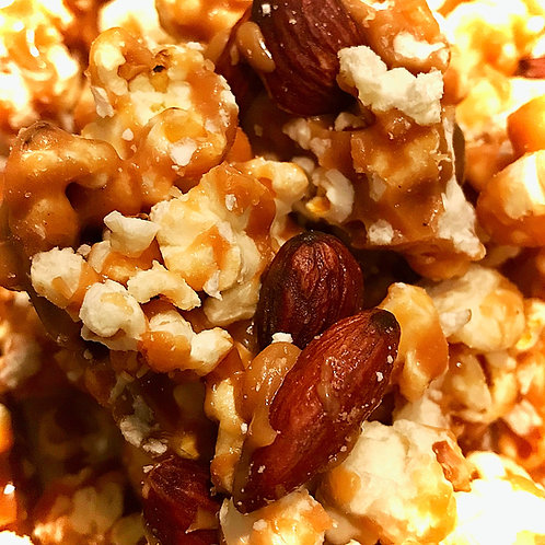 Almond Toffee Popcorn (4 bags)