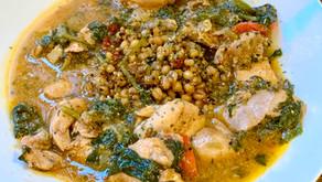 Brown Chicken Stew