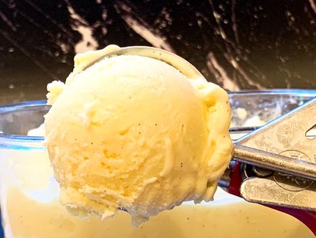 Frozen Custard with vanilla beans