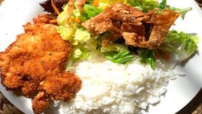 Chicken Katsu for family dinner
