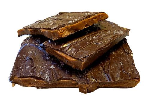 Dark Chocolate Sea Salt toffee candy