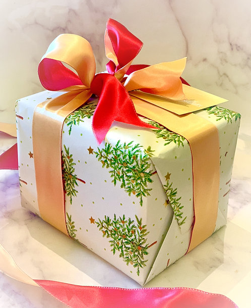Brownie Toffee Holiday Gift