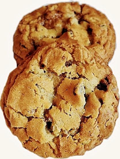 Gluten Free Toffee Cookies