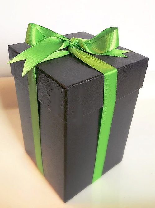 Little Black Box filled with brownies (4)