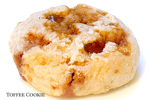 Toffee Cookies (no nuts, no chocolate)