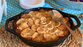 Peach Cobbler with Brown Butter Crust