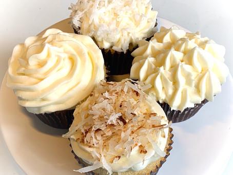 Dreamy Coconut Cupcakes