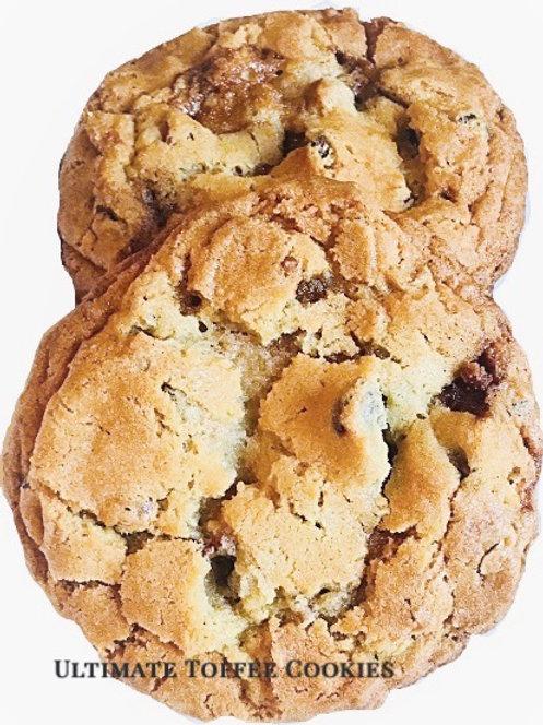 Ultimate Toffee Cookies