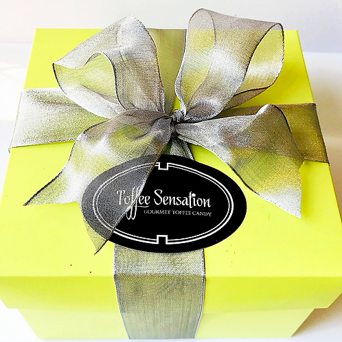 Toffee Candy Brownie Gift Box