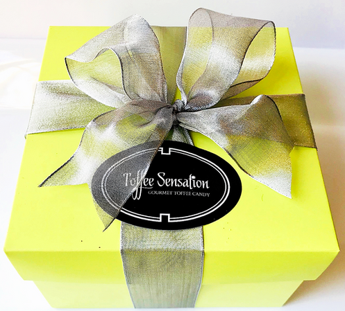 Signature Green Brownie Candy Box