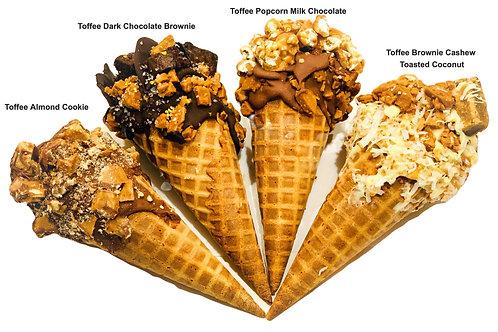 Toffee Cheesecake Cone Variety Box (6)