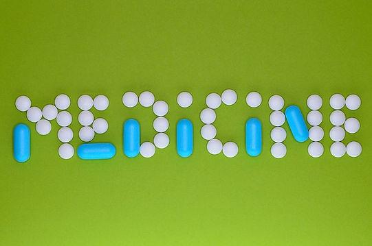 pills spelling medicne