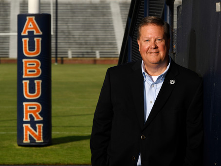 Andy Burcham as new Voice of the Tigers = Touchdown, Auburn