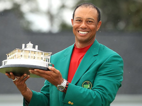 Tiger Woods wins us over as he wins the Masters