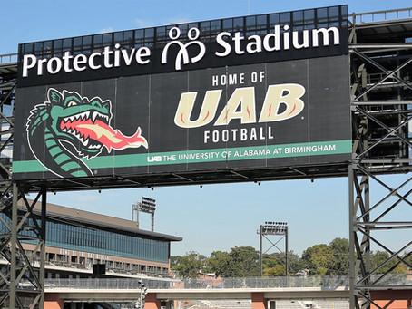 Today UAB and Birmingham make history