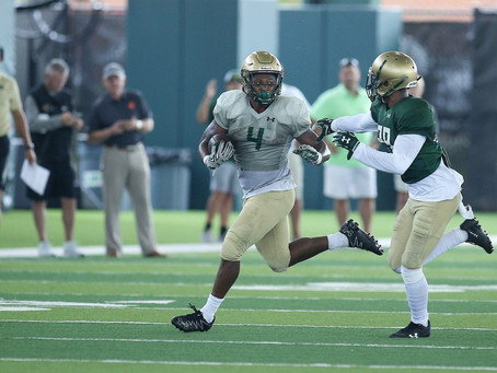 UAB's Spencer Brown bounces back with - yikes - 'a little wiggle'