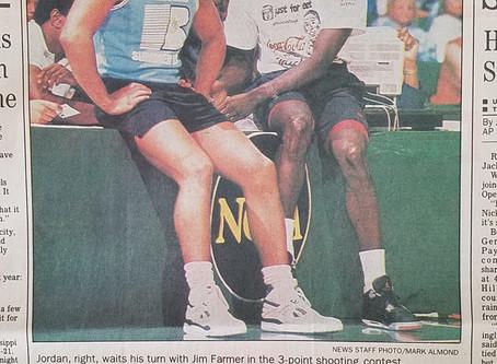 That time Michael Jordan came to town