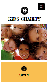 Community & Education website templates – Kids Charity