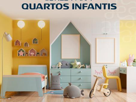 Paletas de Cores para os Quartos Infantis