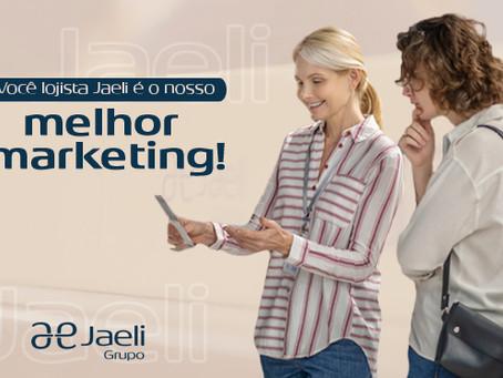 Você lojista é o nosso melhor marketing!