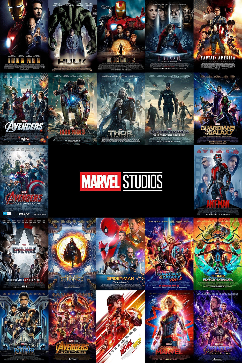 Best Ways To Watch The Marvel Movies In Order