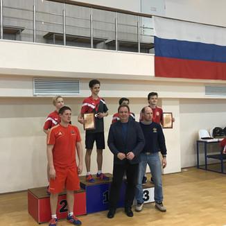 Первенство Москвы по настольному теннису (спорту глухих)