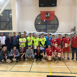 Чемпионат Москвы по спорту глухих среди мужчин (гандбол)