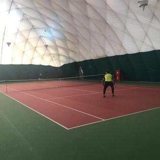 Городское соревнование по теннису (спорт глухих)