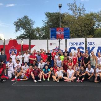 Городское соревнование по стритболу среди глухих