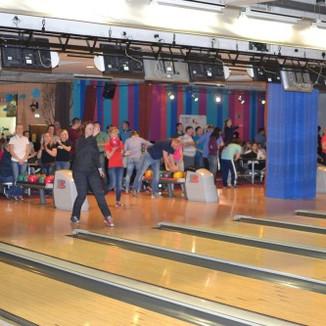 Городское соревнование по боулингу для взрослых