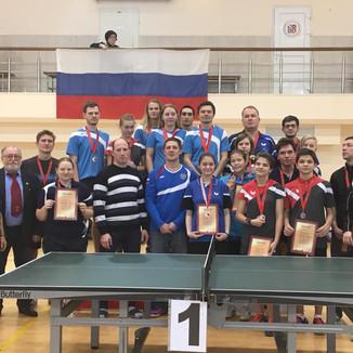 Чемпионат Москвы по настольному теннису (спорт глухих)
