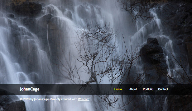 Travel & Documentary website templates – Landscape Photographer