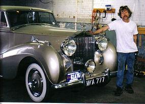 Lady Jane 1951 Rolls Silver Wraith Lemo