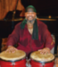Percussionist Montana King