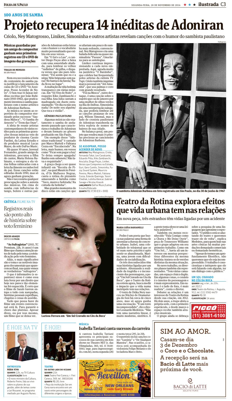 Adoniran - Folha de São Paulo