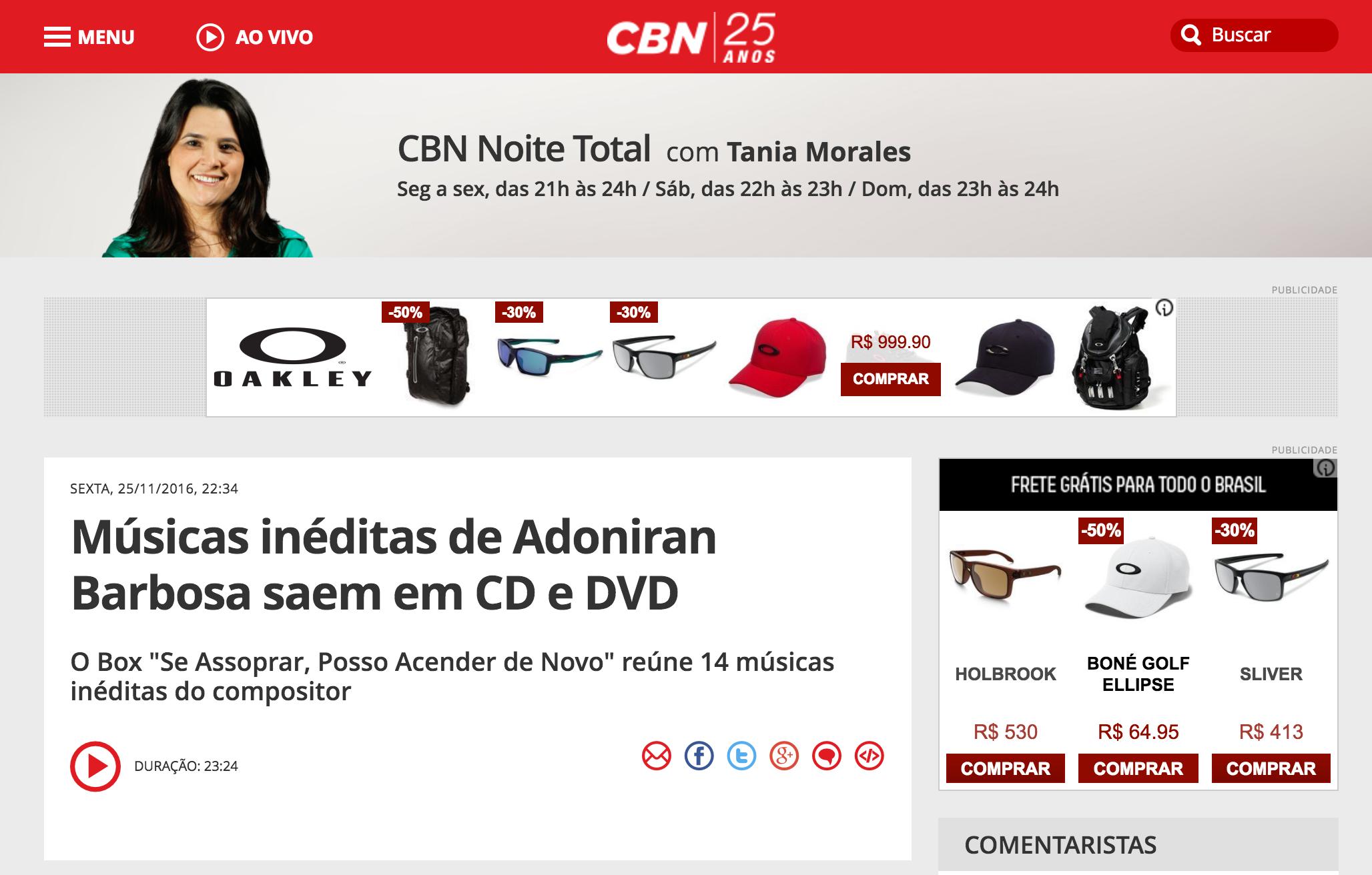 Adoniran - CBN