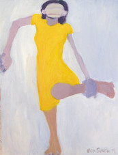 Yellow Dress Ankle Grab