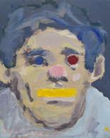 Pink Nose Clown Face