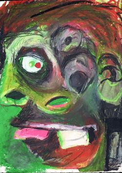 Green Double Head