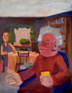 Ladies in the Livingroom