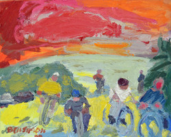 Blooming Bicyclists