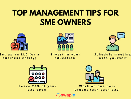 Management Tips for SME Owners To Reduce Headache Moments
