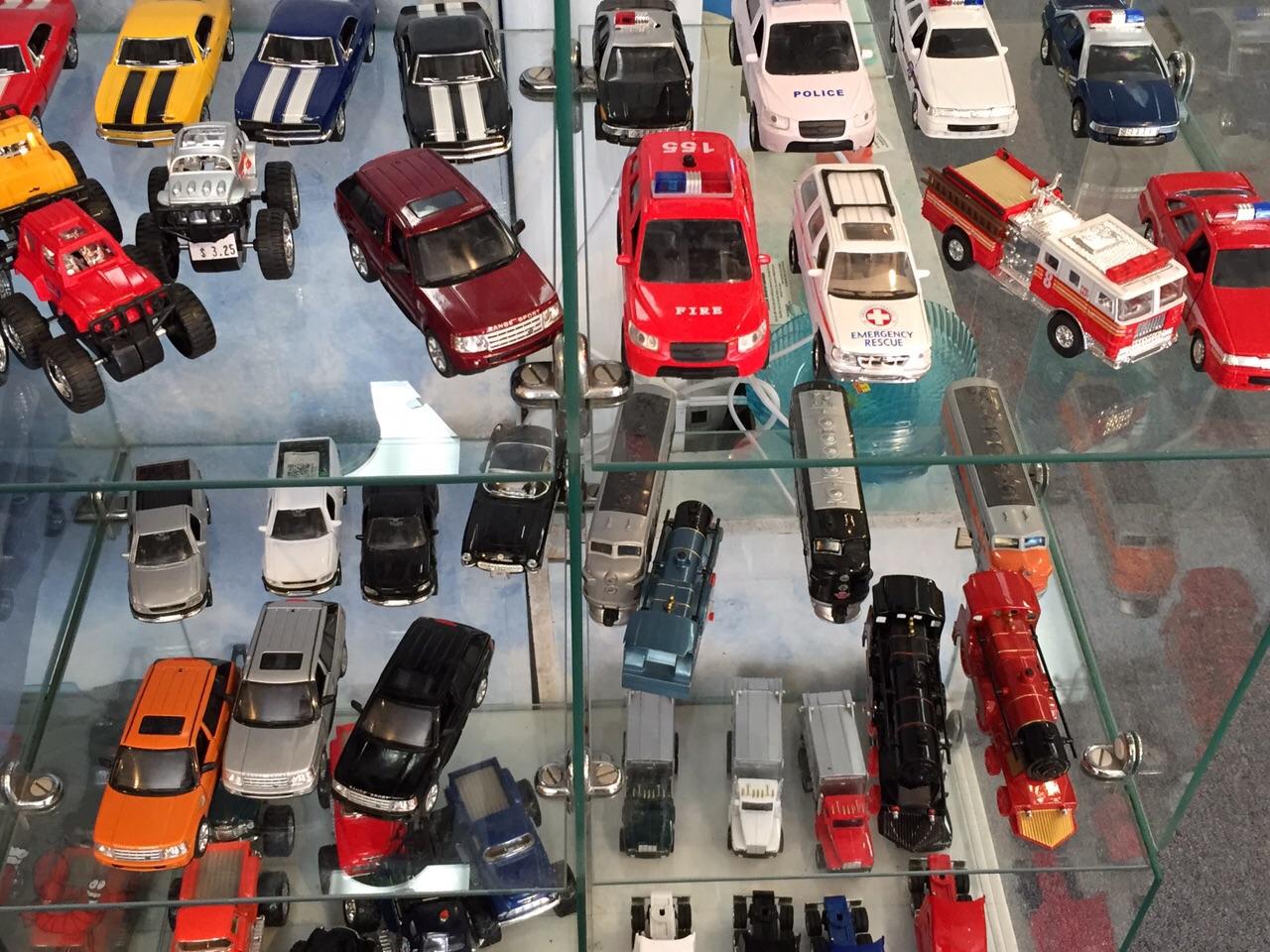 Variety Model Cars