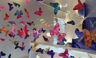 Hanging Butterfly String