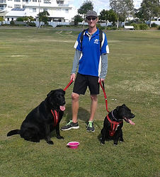 Our dog walking service is popular and Abbey and Layla love their walks with Ultimate Pet Care Sunshine Coast.