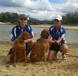 Our Pet Care services are popular, Ki and Kallay love their adventure walks and trips to the beach with Joli and Jon from Ultimate Pet Care Service Sunshine Coast.