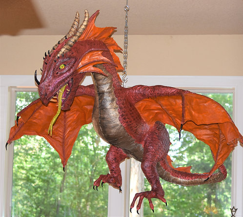 Kitchen/Family Room Hanging Dragon