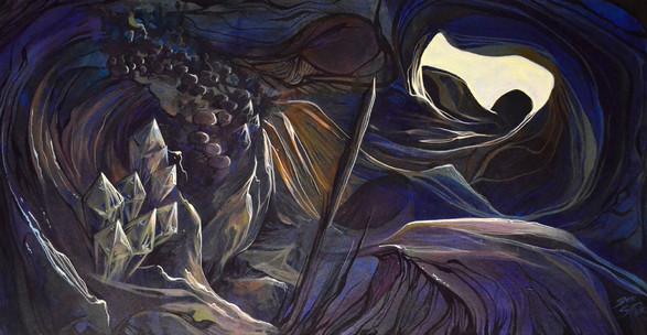 Caverne aux cristaux mycologiques